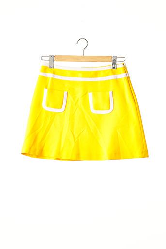 Jupe courte jaune TARA JARMON pour femme