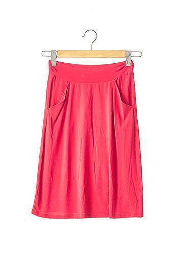 Jupe mi-longue rouge AGNES B pour femme