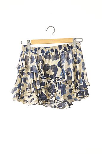 Mini-jupe bleu PLEIN SUD pour femme
