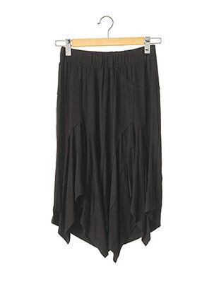 Jupe mi-longue noir ISABEL DE PEDRO pour femme