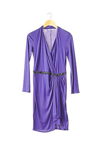 Robe courte violet BLUMARINE pour femme
