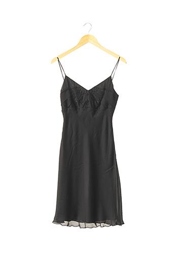 Robe mi-longue noir ARMANI pour femme