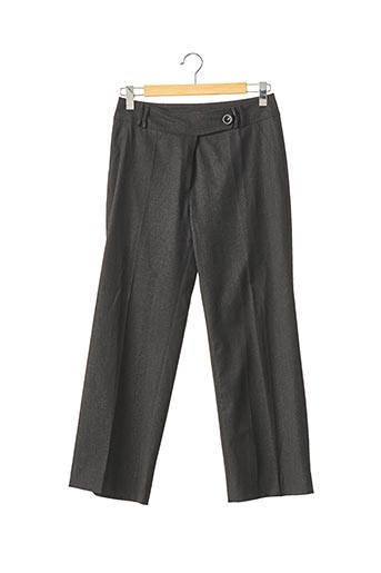 Pantalon chic gris EXALTATION pour femme
