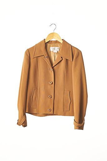 Veste casual marron BARBARA BUI pour femme