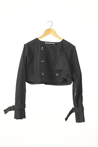 Veste casual noir CORA KEMPERMAN pour femme