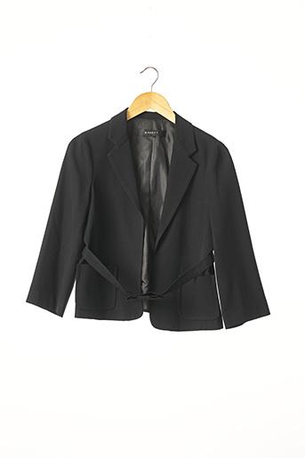 Veste chic / Blazer noir BIRKETT pour femme