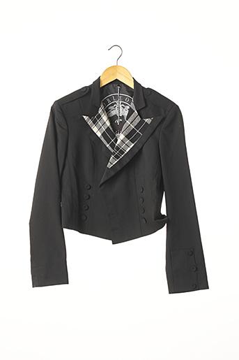 Veste chic / Blazer noir CORLEONE pour femme