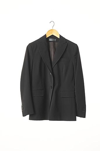 Veste chic / Blazer noir DEVERNOIS pour femme