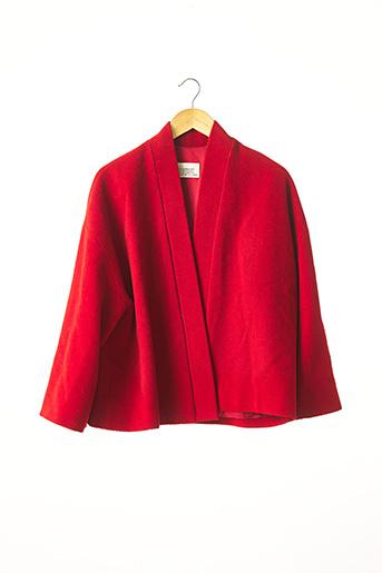 Veste chic / Blazer rouge COMPAGNIE FRANÇAISE DE L'ORIENT ET DE LA CHINE pour femme