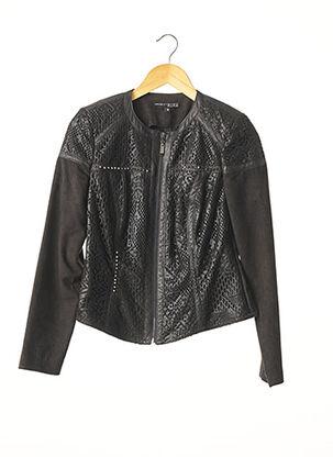 Veste casual noir EXTENZO PARIS pour femme