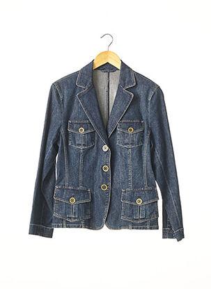 Veste en jean bleu BASLER pour femme