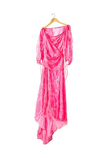 Robe longue rose EMANUEL UNGARO pour femme