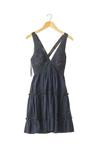 Robe mi-longue bleu BASIX II pour femme