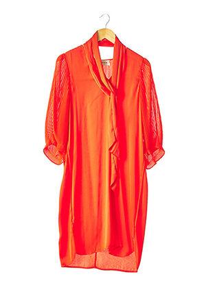 Robe mi-longue orange BY MALENE BIRGER pour femme