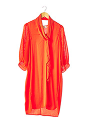Robe mi-longue orange BY MALENE BIRGER pour femme seconde vue