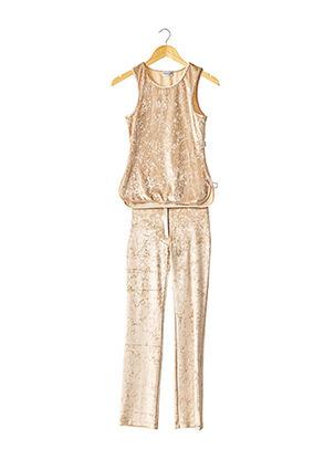 Top/pantalon beige ANTI-FLIRT pour femme