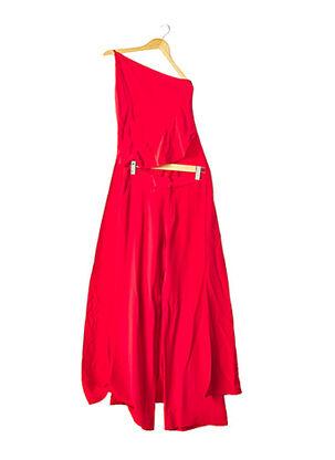 Top/pantalon rouge JUAN CARLOS OBANDO pour femme