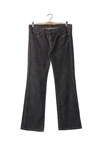 Jeans coupe large noir JOSEPH pour femme