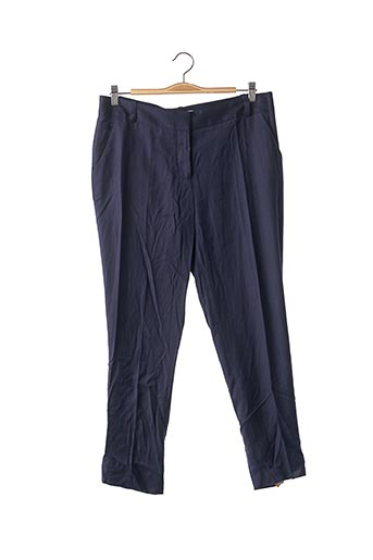 Pantalon 7/8 bleu DIANE VON FURSTENBERG pour femme