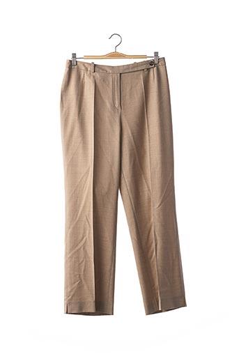 Pantalon casual beige A-K-R-I-S pour femme