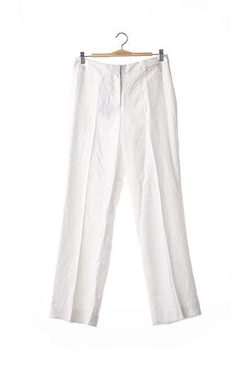 Pantalon casual blanc BROOKS BROTHERS pour femme