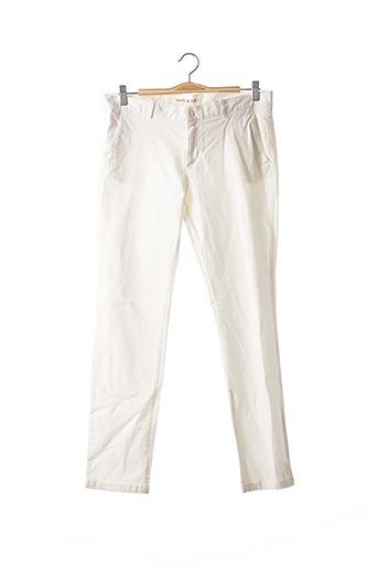 Pantalon casual blanc PAUL & JOE pour femme