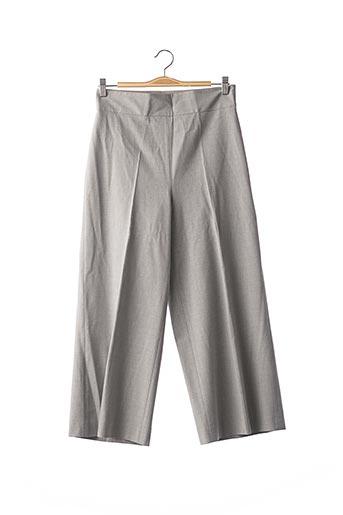 Pantalon casual gris ADOLFO DOMINGUEZ pour femme