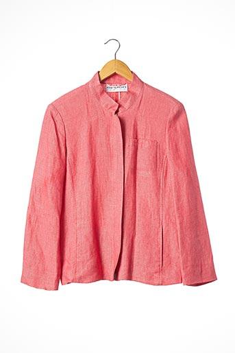 Veste casual rose APRIORI pour femme