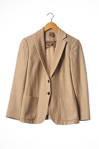 Veste chic / Blazer beige MAXMARA pour femme