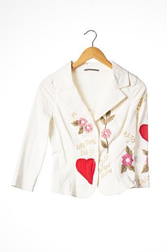 Veste chic / Blazer blanc LIU JO pour femme