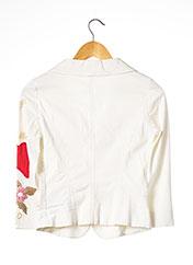 Veste chic / Blazer blanc LIU JO pour femme seconde vue