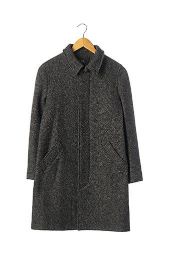 Manteau long gris A.P.C. pour femme