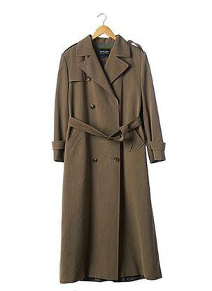 Manteau long vert RALPH LAUREN pour femme