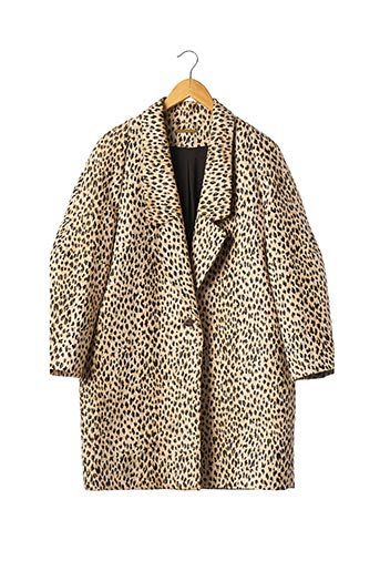 Manteau court beige DIANE VON FURSTENBERG pour femme
