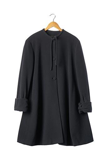 Manteau long gris ARMANI pour femme