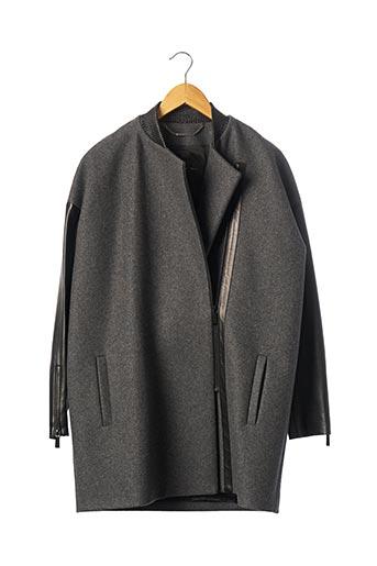Manteau long gris BARBARA BUI pour femme