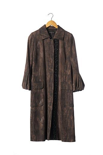 Manteau long marron BARBARA BUI pour femme