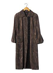 Manteau long marron BARBARA BUI pour femme seconde vue
