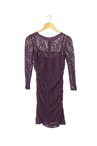 Robe courte violet DOLCE & GABBANA pour femme