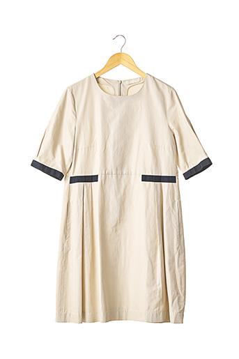 Robe mi-longue beige MAXMARA pour femme