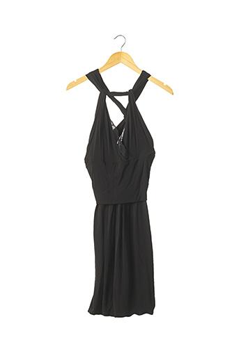 Robe mi-longue noir DSQUARED pour femme