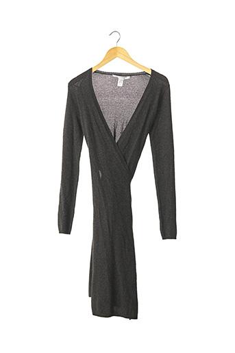 Robe pull gris DIANE VON FURSTENBERG pour femme