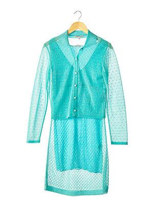 Veste/robe bleu ARMANI pour femme