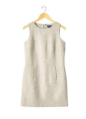 Robe courte gris FACONNABLE pour femme