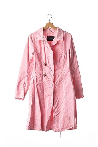 Imperméable/Trench rose ERMANNO SCERVINO pour femme