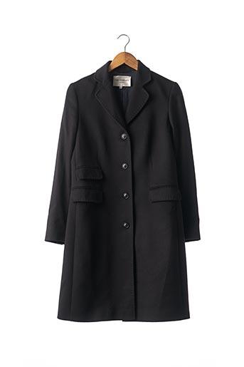 Manteau long bleu ERIC BOMPARD pour femme