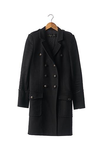Manteau long noir BARBARA BUI pour femme