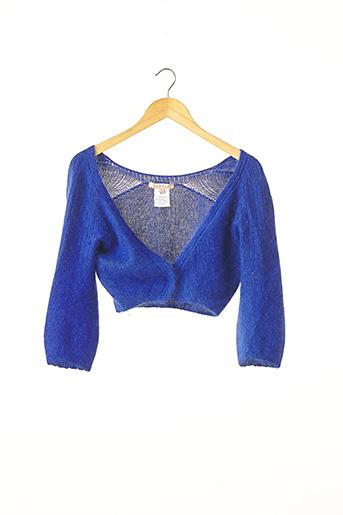 Boléro bleu SANDRO pour femme