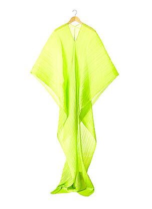 Paréo vert PLEATS PLEASE pour femme