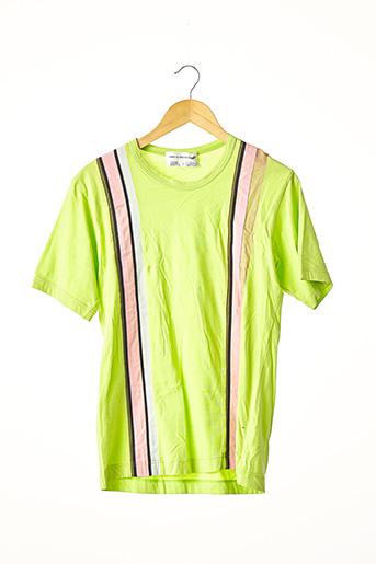 T-shirt manches courtes vert COMME DES GARCONS pour femme